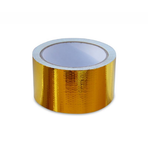 "Mishimoto 2"" x 35' Gold Heat Defense Reflective Tape Roll"